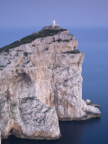 Lighthouse  Capo Caccia  Sardinia  Italy