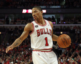 Miami Heat v Chicago Bulls - Game Five  Chicago  IL - MAY 26: Derrick Rose