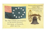 First Flag  Liberty Bell