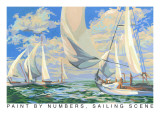 Paint by Numbers  Sailing Scene