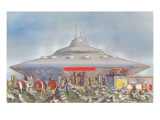 Flying Saucer for Tourists