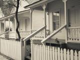 USA  Florida  Tampa  Ybor City  Cuban Heritage Area  Centennial Park  Row Houses