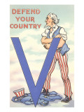 Uncle Sam  Defend Your Country