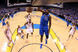 Dallas Mavericks v Oklahoma City Thunder - Game Three  Oklahoma City  OK - MAY 21: Brendan Haywood