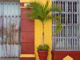 Colombia  Bolivar  Cartagena De Indias  Old Walled City  Windows of Colonial House