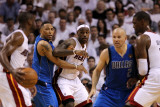 Dallas Mavericks v Miami Heat - Game One  Miami  FL - MAY 31: Dwyane Wade  LeBron James  Shawn Mari