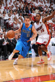 Dallas Mavericks v Miami Heat - Game One  Miami  FL - MAY 31: Jose Barea and Mario Chalmers