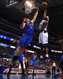 Oklahoma City Thunder v Dallas Mavericks - Game Five  Dallas  TX - MAY 25: Brendan Haywood and Nick