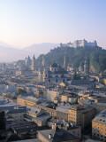 Alt Stadt and Hohensalzburg Fortress  Salzburg  Austria