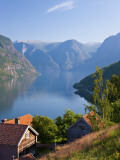 Otternes Mountain Village  Nr Flam  Aurlandsfjord  Norway