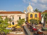Colombia  Bolivar  Cartagena De Indias  Plaza Santa Teresa  Horse Carts