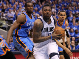 Oklahoma City Thunder v Dallas Mavericks - Game Five  Dallas  TX - MAY 25: DeShawn Stevenson  Serge