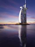 United Arab Emirates (UAE)  Dubai  the Burj Dubai Hotel at Night