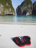 Flip Flips on Beach  Ao Maya  Ko Phi Phi Leh  Thailand