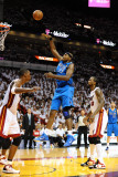 Dallas Mavericks v Miami Heat - Game One  Miami  FL - MAY 31: Brendan Haywood and Udonis Haslem