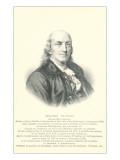 Engraving of Benjamin Franklin