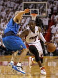 Dallas Mavericks v Miami Heat - Game One  Miami  FL - MAY 31: Dwyane Wade and Jason Kidd