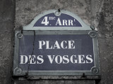 Place Des Vosges  Marais District  Paris  France