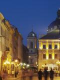 Market Square (Ploscha Rynok) at Dusk  Lviv  UKraine