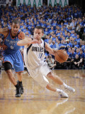 Oklahoma City Thunder v Dallas Mavericks - Game Five  Dallas  TX - MAY 25: Jose Barea and Eric Mayn