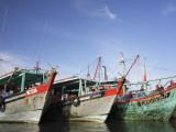 Fishing Boats  Labuan Island  Sabah  Malaysia
