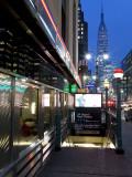 USA  New York City  Diner in Midtown Manhattan