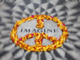 Mosaic Commemorting John Lennon  Strawberry Fields  Central Park  Manhattan  New York City  USA