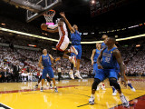 Dallas Mavericks v Miami Heat - Game One  Miami  FL - MAY 31: Dwyane Wade  Shawn Marion and Jason K