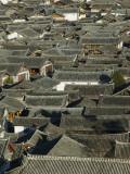 China  Yunnan Province  Lijiang  Lijiang Old Town Rooftops