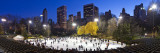 USA  New York City  Manhattan  Wollman Ice Rink in Central Park