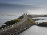 Storseisundbrua Bridge  the Atlantic Road  Romsdal  Norway
