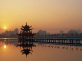Taiwan  Kaohsiung  Lotus Lake at Sunset