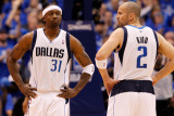 Oklahoma City Thunder v Dallas Mavericks - Game Five  Dallas  TX - MAY 25: Jason Terry and Jason Ki