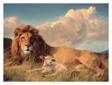 Paix sur Terre Reproduction d'art par Nancy Glazier