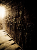 Tunnels at the Temple of Dendera  Egypt