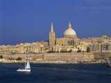 City Skyline  Valetta  Malta
