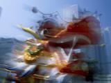 Chinese New Year / Dragon Dance  Hong Kong  China