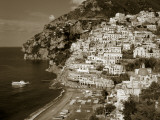 Village of Positano  Amalfi Coast  Campania  Italy