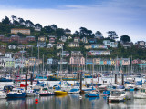 UK  Devon  Kingswear from Dartmouth  River Dart