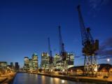 Canary Wharf  Docklands  London  England