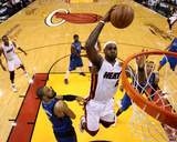 Dallas Mavericks v Miami Heat - Game One  Miami  FL - MAY 31: LeBron James and Tyson Chandler