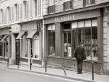Bookshop  St Germain Des Pres District  Rive Guache  Paris  France