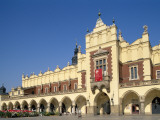 Main Market Square and the Cloth Hall  Cracow (Krakow)  Poland