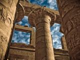 Great Hypostyle Hall at Karnak Temple  Egypt