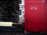 Derelict Red Door