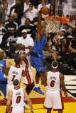 Dallas Mavericks v Miami Heat - Game One  Miami  FL - MAY 31: Brendan Haywood and Joel Anthony