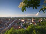 Germany  Bavaria (Bayern)  Landshut  Twon Skyline