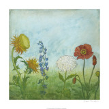 Antique Floral Meadow I