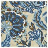 Custom Indigo Tapestry I
