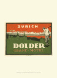 Vintage Travel Label VIII